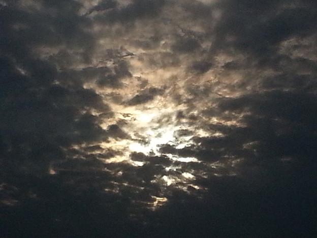 雲ではなく海面です(-∀-)