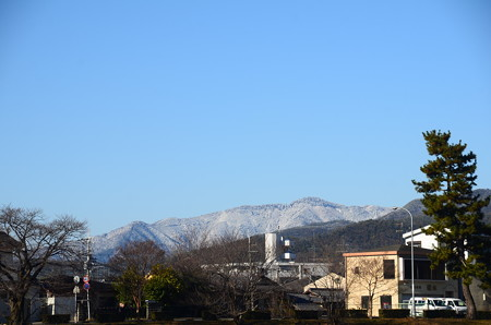 雪の愛宕山