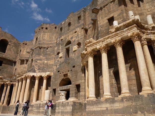 Syria ボスラ ローマ劇場2