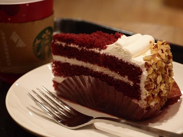 devilish red cake