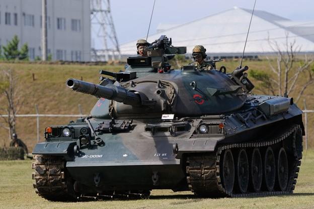 D300s_20131006_225 米子駐屯地 74式戦車