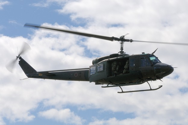 D300s_20131006_326 模擬戦闘 UH-1J ヒューイ