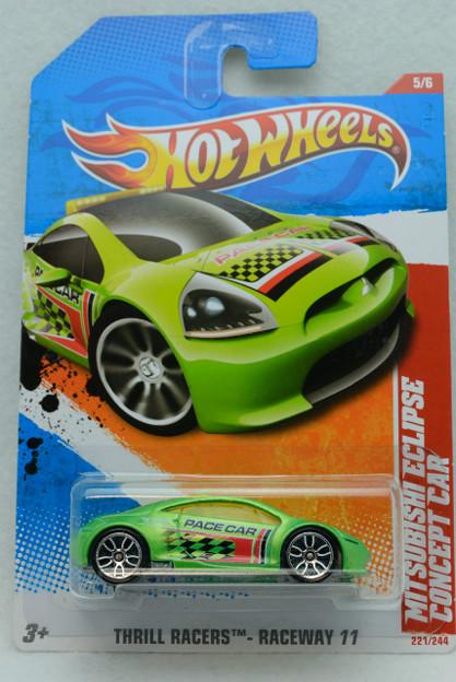 HOTWHEELS_2011 No.221 MITSUBISHI ECLIPSE CONCEPT CAR