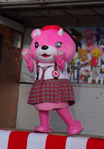 コアックマちゃん(ライブステージ)にて