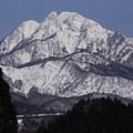 Photos: 聳え立つ冬の蒜山