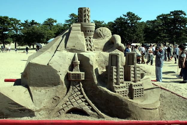 砂の造形ー5