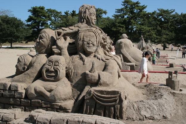 砂の造形ー6