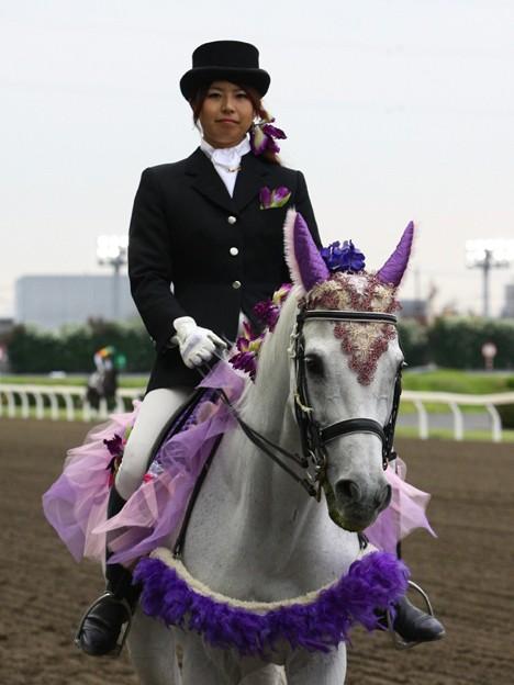 写真: 川崎競馬の誘導馬06月開催 あやめVer-120611-05-large