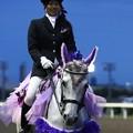 写真: 川崎競馬の誘導馬06月開催 あやめVer-120611-16-large