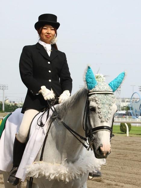 写真: 川崎競馬の誘導馬06月開催 初心者マークVer-120615-09-large