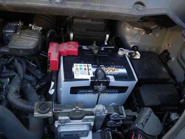 Photos: バッテリー交換