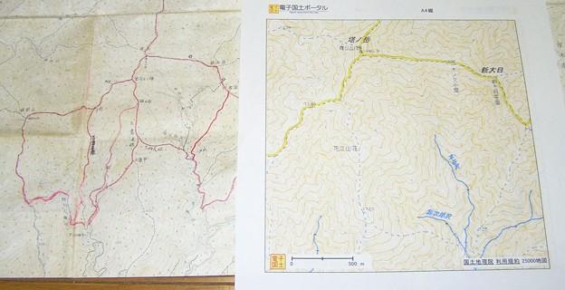 Photos: 1)電子国土ポータル