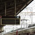 高安駅の行先表示器