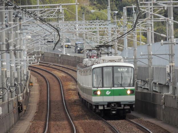 神戸市交通局3000形(3123F)-01