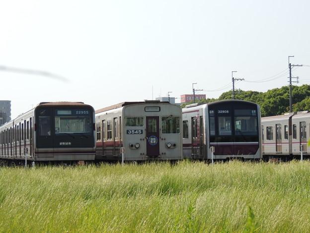 Photos: 現在、活躍する谷町線の車両達
