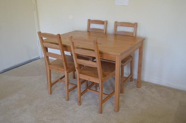 テーブルセット $50.00