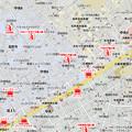 Photos: 市野倉町トイレ・コンビニマップ