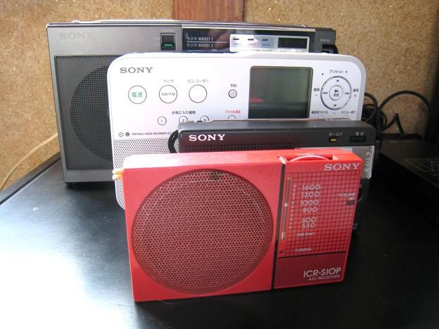ラジオはソニー…