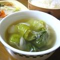 チンゲン菜のとろとろ煮スープ…