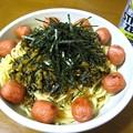 Photos: 高菜と梅干し?…