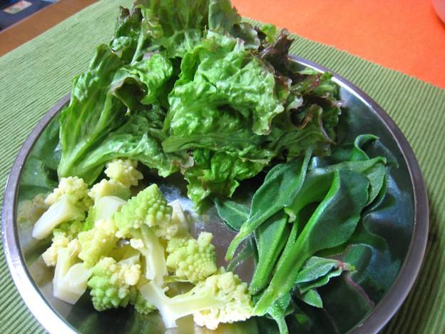 Photos: マヨネーズの合う野菜・・・