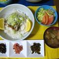 Photos: オイルサーディン丼セット風・・・