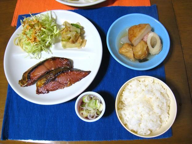 Photos: 焼き魚定食風・・・