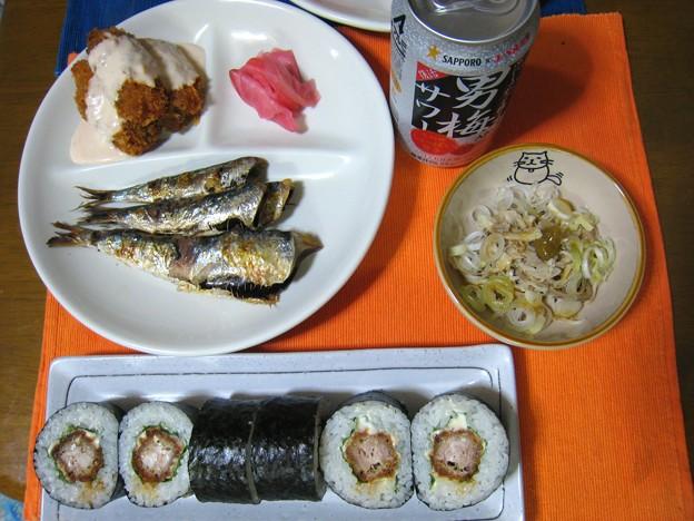 肴は魚・・・