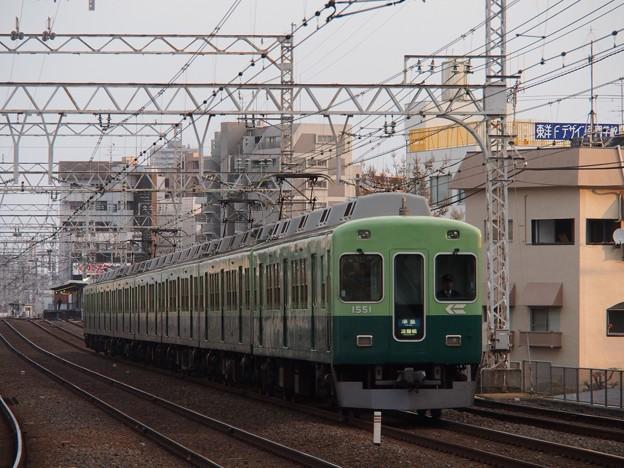 京阪1000系 旧塗装