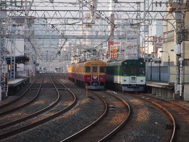 京阪8000系 8030番台と5000系