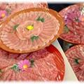 お肉のお花