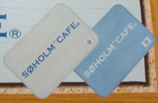 SOHOLM CAFE フリースブランケット