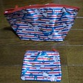 Photos: Candy Stripper×HELLO KITTY 特大&ミニ ポーチ2個セット