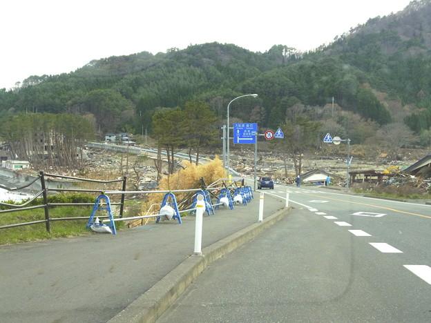 浪板海岸:震災1ヵ月半後