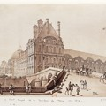 写真: Paris-PontRoyal-PavillonDeFlore-1814
