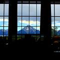 Jackson Lake Lodge からの眺め