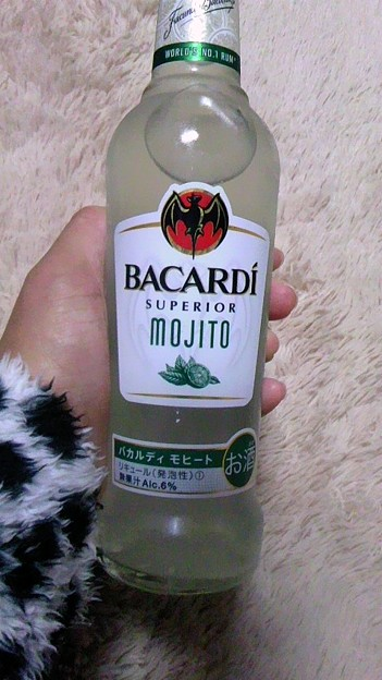 写真: 今日はこれ飲んじゃうもんね...