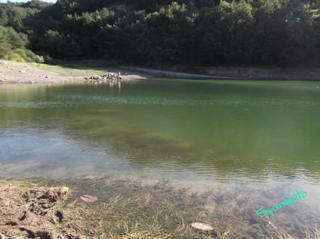 2012.9.17 減水した前川ダム