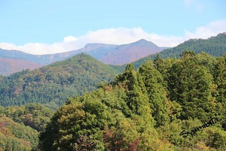 紅葉した蔵王山 2012.10.27
