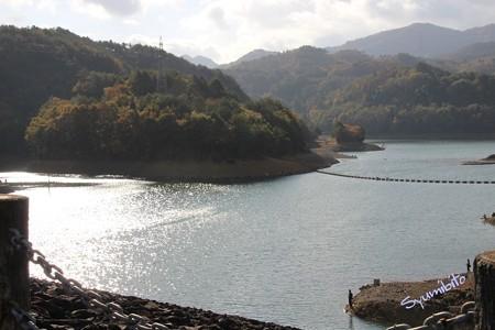 秋の前川ダム