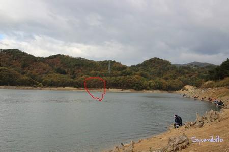 秋の前川ダム 3