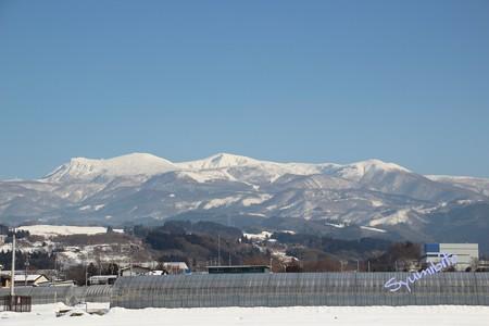 晴天の蔵王山