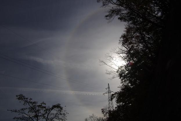 ハロ 日暈 虹
