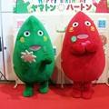 写真: ヤマトンとハートン