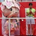 ミヤリーと『三代目ウナガール』&『2013年宇都宮餃子消費量日本一奪還アイドル』の筑井美佑輝ちゃん