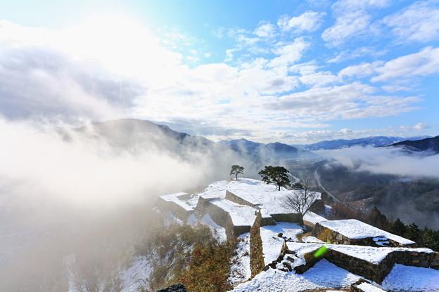 写真: 『天空の城』 ~竹田城址~