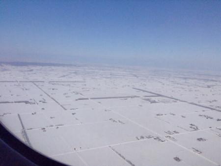 20140306機中より見下ろす北海道