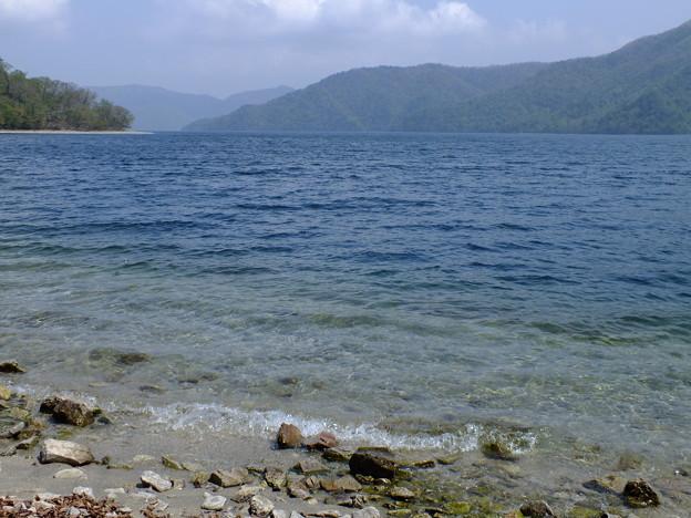 湖畔を・・・・