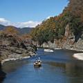 写真: 秋の岩畳