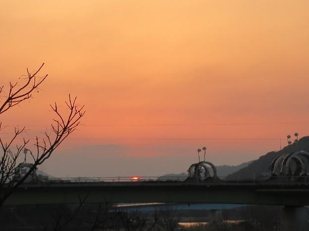 暁の鏡川.21